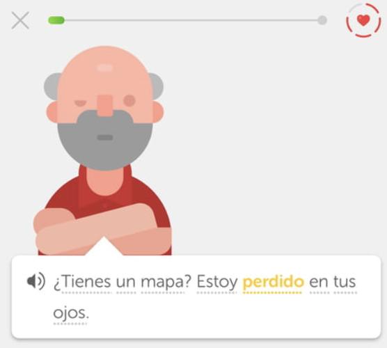 DuoLingo Spanish screenshot